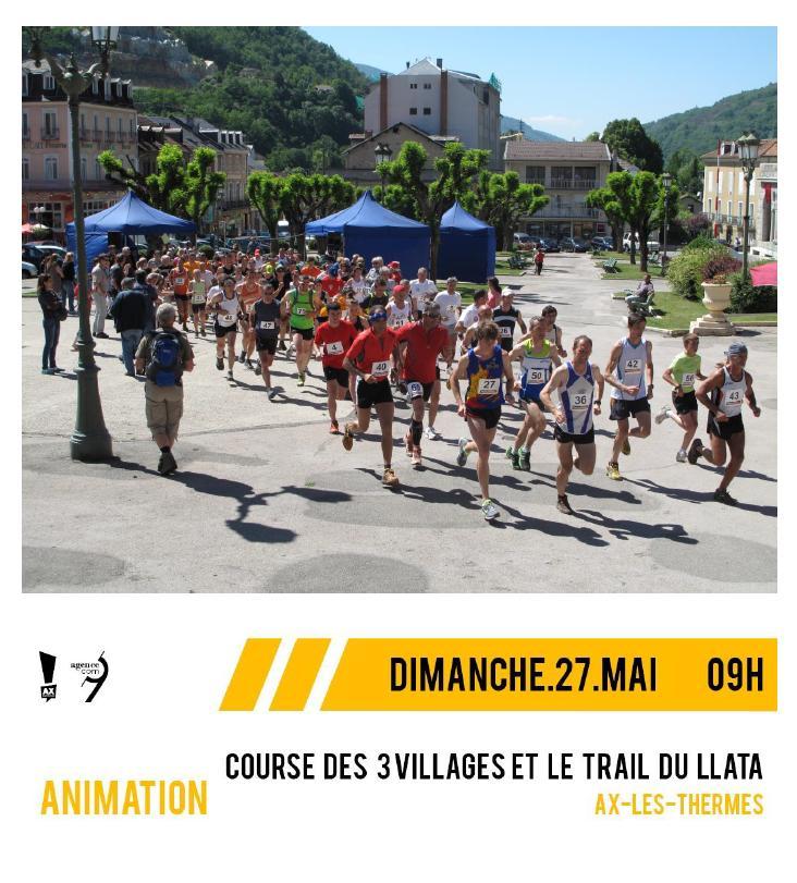 Trail et course à Ax-les-Thermes