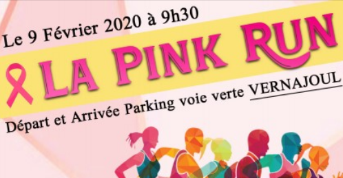 Podium sur la Pink  Run