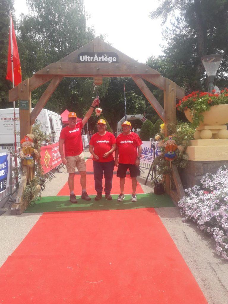 Au staff: Yves, Eric et Jeannot